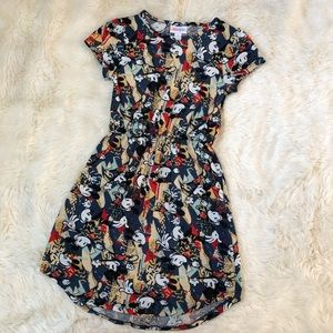 Disney Lularoe Mickey Mouse Dress